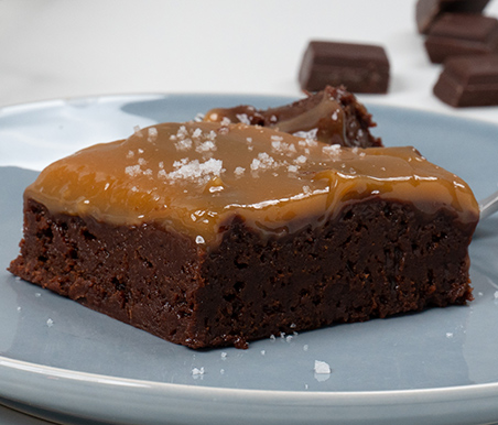 Brownie con Toffee